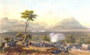 U.S. Troops March on Monterrey, Mexico, Sept. 1846